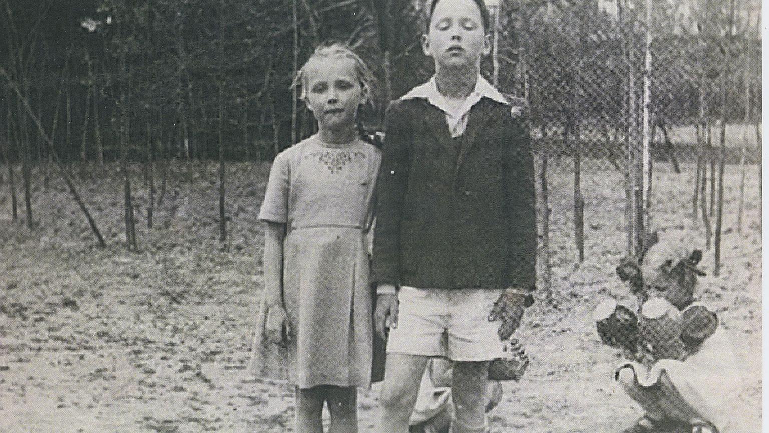 Barbara i Wojciech w Komorowie, 1951 rok