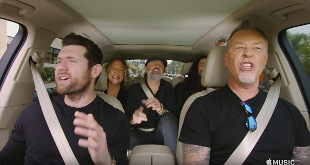 Metallica Carpool Karaoke