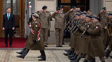 Odprawa Kadry Kierowniczej MON w Pałacu Prezydenckim w Warszawie