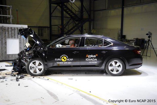 Skoda Superb Testy Euro NCAP