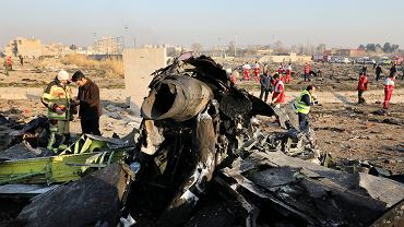 Zestrzelony samolot Ukraińskich Linii Lotniczych