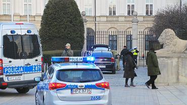Pałac Prezydencki, 22 stycznia 2019 roku. Próba sforsowania bram