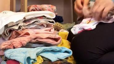 Sortowanie i składanie prania trwa godzinami.