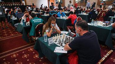 Aleksandra Tarnowska podczas turnieju w kategorii U2000.