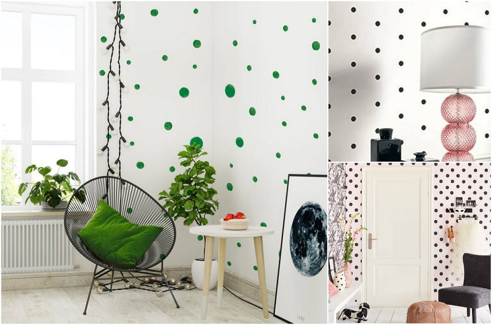 Motyw dots w mieszkaniu