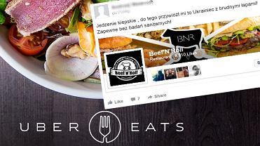 UberEATS - taksówkarze szkalują restauracje?