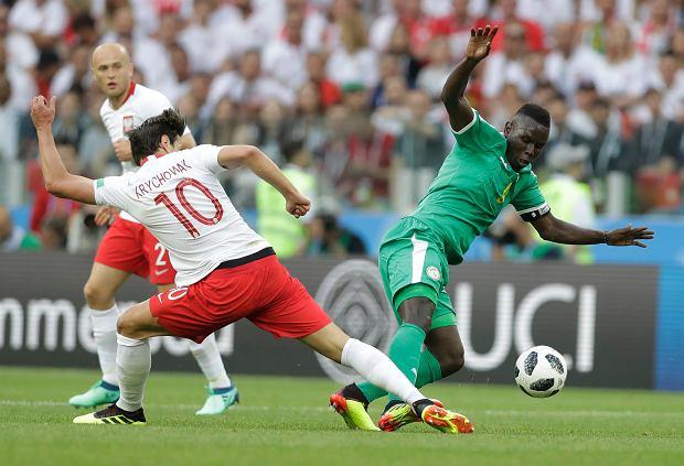 Mistrzostwa Świata w Piłce Nożnej Rosja 2018. Mecz Polska Senegal, Moskwa, 19 czerwca 2018