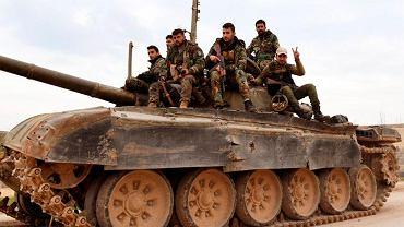 Syria. Siły rządowe, zdjęcie ilustracyjne.