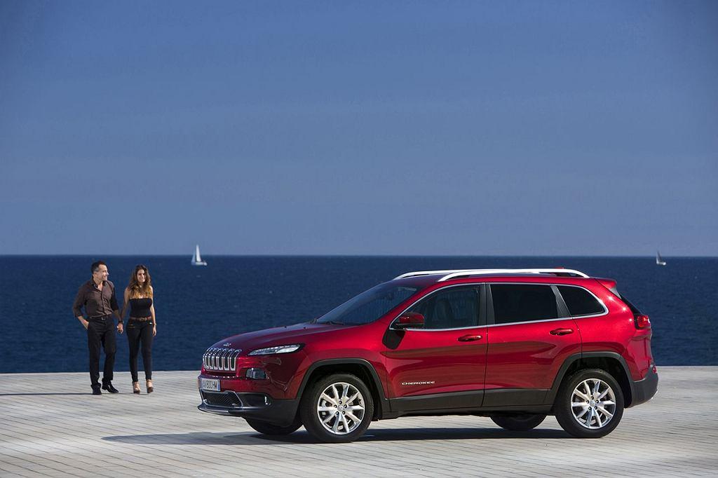 Nowy Jeep Cherokee zdobył niemal połowę rynku w swoim segmencie na rynku amerykańskim