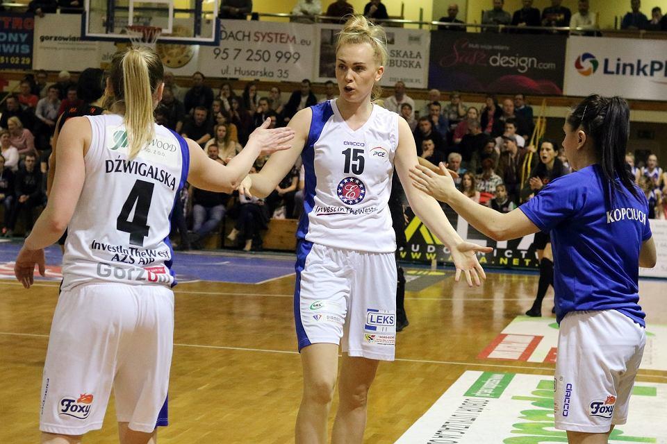 Pierwszy ćwierćfinał play-off w BLK: AZS AJP Gorzów - CCC Polkowice 84:82 (13:25, 18:20, 26:16, 27:21)