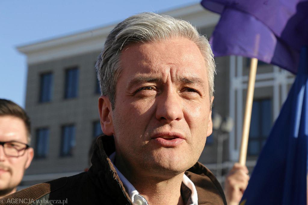 Robert Biedroń w Białymstoku