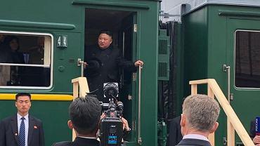 Kim Dzong Un w Rosji