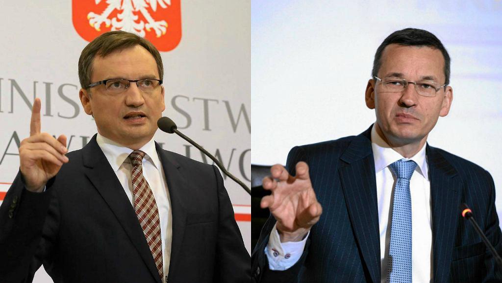 Zbigniew Ziobro / Mateusz Morawiecki