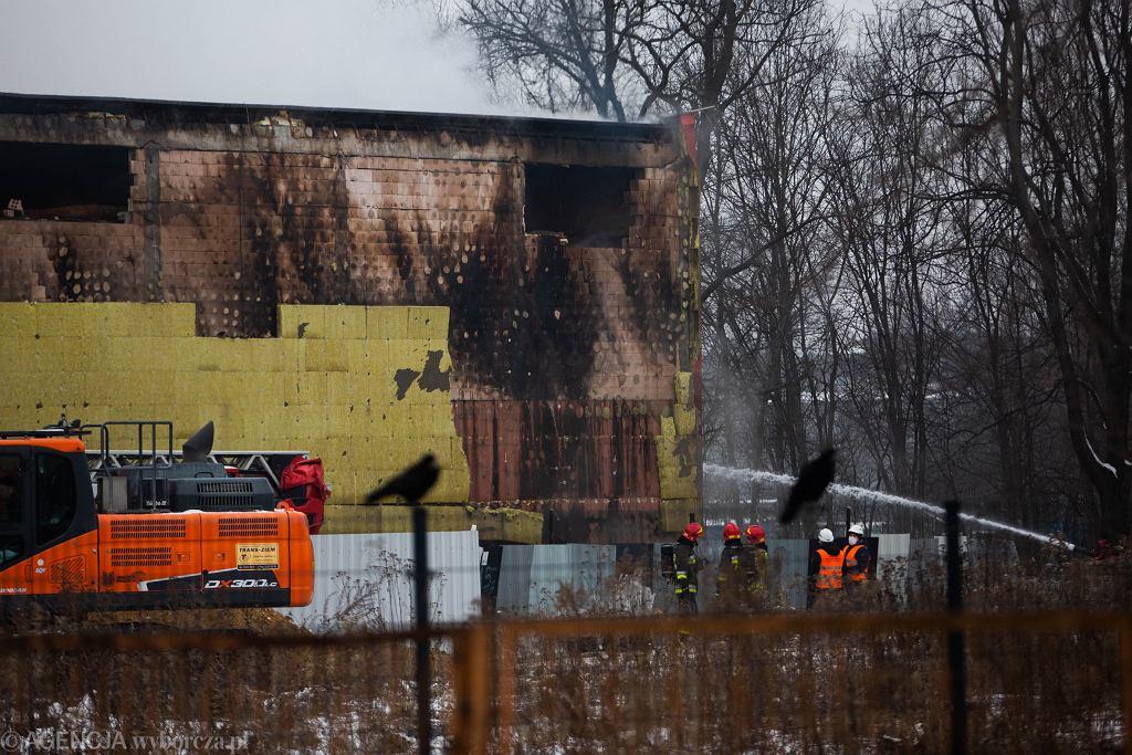 Kraków. Pożar w Archiwum Urzędu Miasta. Zniszczeniu mogło ulec nawet 98 proc. zasobów