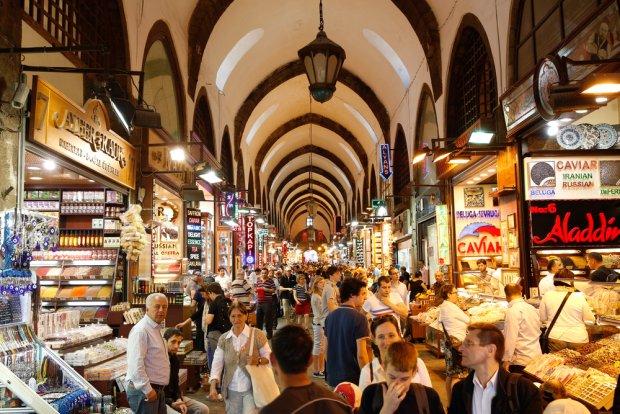 Wielki Bazar w Stambule, fot. Rob van Esch / shutterstock.com