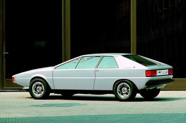 Audi Karmann Asso di Picche concept (1973)