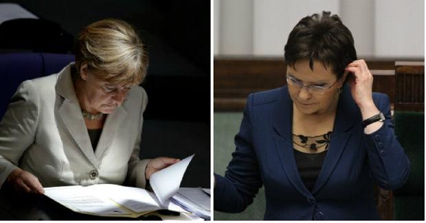 Angela Merkel, Ewa Kopacz