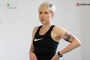 Ćwicz w domu: kanapa. Ola Owsiak
