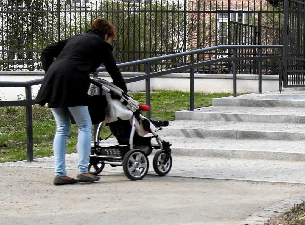 Wózek z dzieckiem