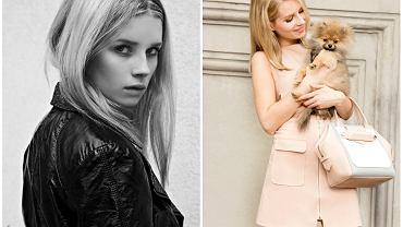 Lottie Moss w wieku 16 i 18 lat