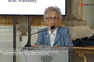 Uczestniczka powstania warszawskiego: Byliśmy uchodźcami. Roznosiliśmy pasożyty i pierwotniaki. Ale uzyskaliśmy pomoc
