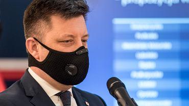 Szef KPRM Michał Dworczyk