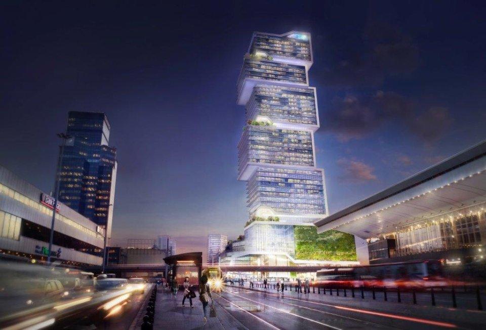 Zdjęcie numer 1 w galerii - PKP przy Dworcu Centralnym chce postawić 200-metrowy wieżowiec