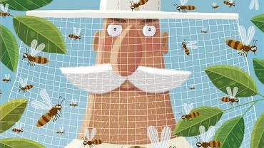 Okładka książki 'Pszczoły' Piotra Sochy