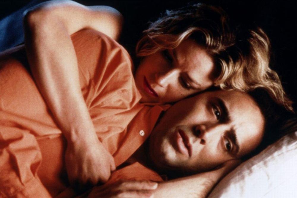 Elisabeth Shue i Nicolas Cage w