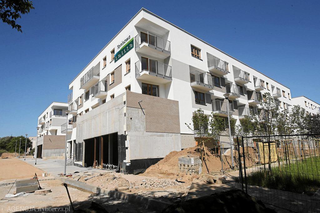 Mieszkania w budowie