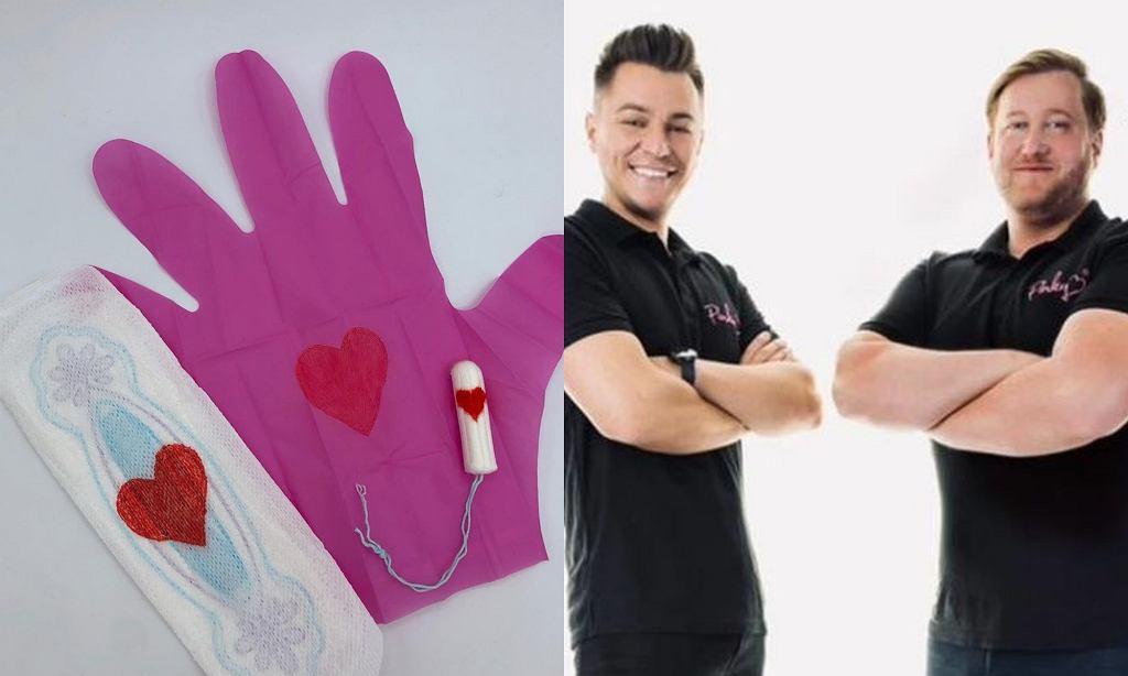 Dwóch znajomych wymyśliło 'Pinky gloves'