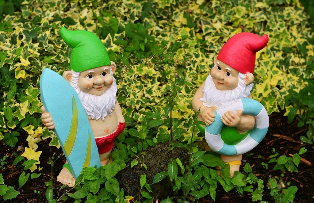 Krasnal ogrodowy: jak o niego dbać, by był prawdziwą ozdobą ogrodu? Zdjęcie ilustracyjne