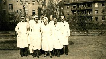 Szpital żydowski we Wrocławiu na archiwalnych fotografiach