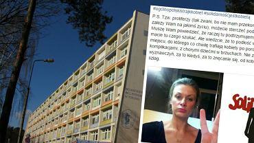 """Pikieta """"obrońców życia"""" przed szpitalem w Toruniu"""