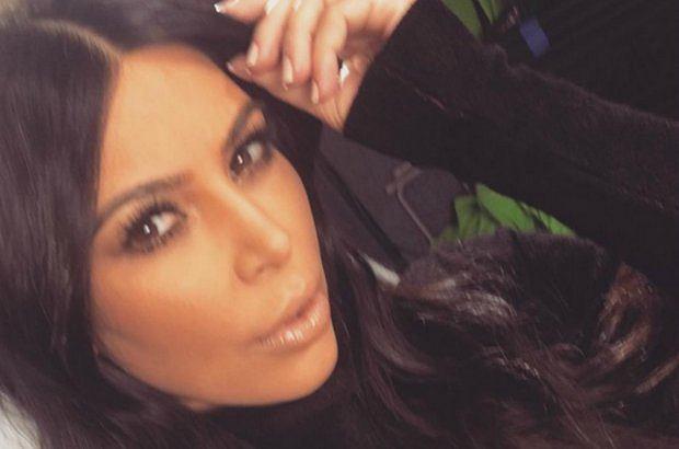 Kim Kardashian tym razem w ubraniu