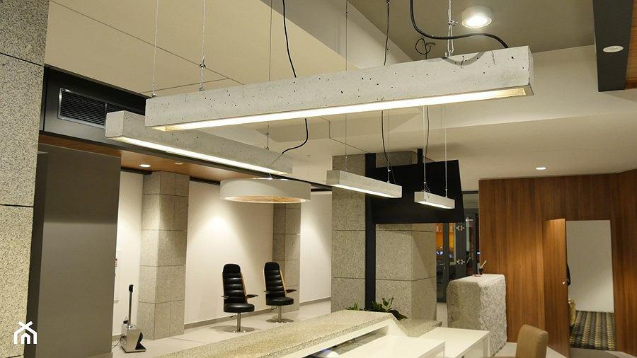 Lampa betonowa Lungo 100