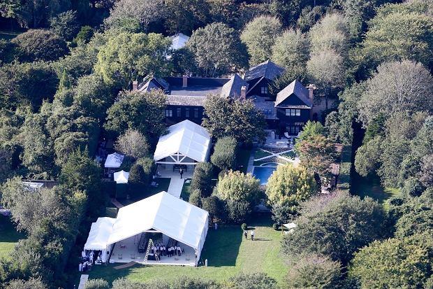 Dom Gwyneth Paltrow w dniu jej ślubu