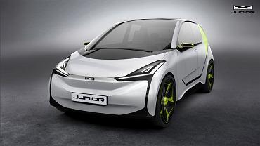 Projekt elektrycznego auta Junior