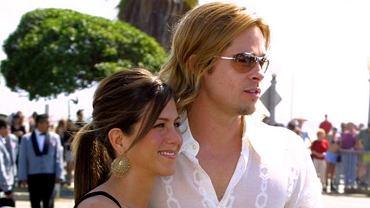 Jennifer Aniston i Brad Pitt w 2004 roku - znowu randkują?