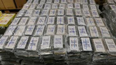 Niemcy, udaremniono rekordowy przemyt kokainy