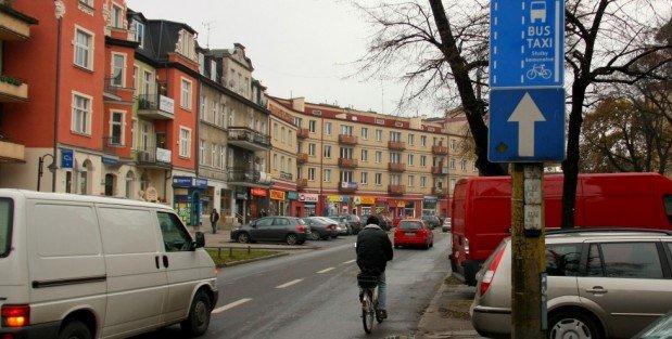 Legalnie buspasem. ul. Dmowskiego, Gdańsk Wrzeszcz
