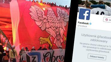 Narodowcy blokują profil Facebooka