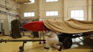 Rzekoma rakieta SSC-X-9 nazywana przez Rosjan Buriewiestnik