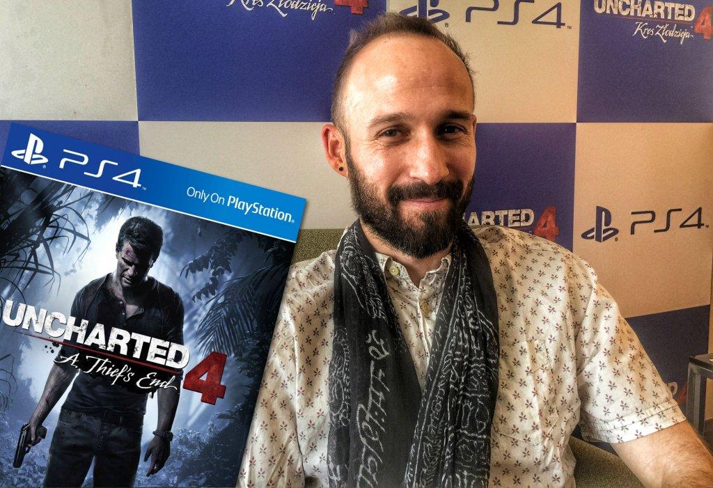 Ricky Cambier, główny projektant gry Uncharted 4