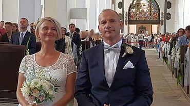 Ślub Magdaleny Wałęsy i Lecha Kaźmierczyka. Radny Lech Kaźmierczyk przyjął nazwisko żony i teraz nazywa się Lech Wałęsa