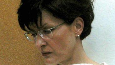 """Marzena Paczuska (zdjęcie archiwalne z 2003 r.) - szefowa """"Wiadomości"""" TVP."""