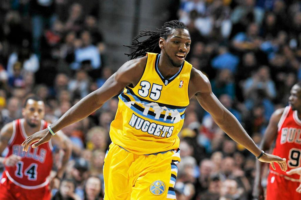 Kenneth Farried z Denver Nuggets