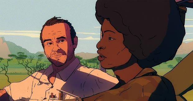 Kadr z filmu 'Jeszcze dzień życia' na podstawie książki Ryszarda Kapuścińskiego