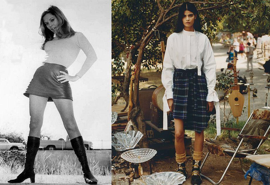 Międzynarodowy Dzień Spódnicy - jak zmieniała się na przestrzeni lat?
