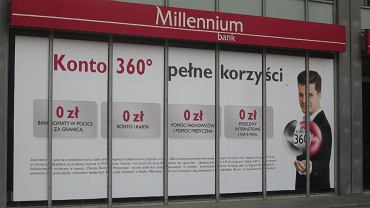 Bank Millennium, reklama, konto